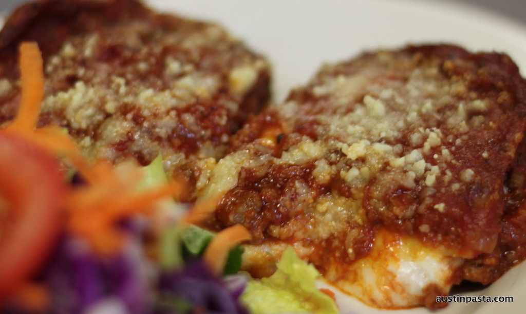 Lasagne-with-Salad