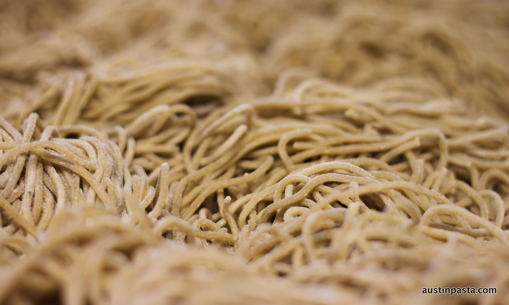 Wholewheat-Linguine